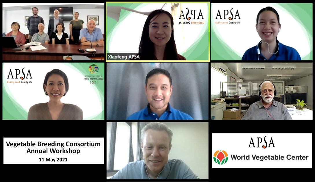 APSA-WorldVeg Vegetable Breeding Consortium 2021 Workshop