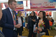 Tianjin-Julie-Xiaofeng-at-Incotec-booth