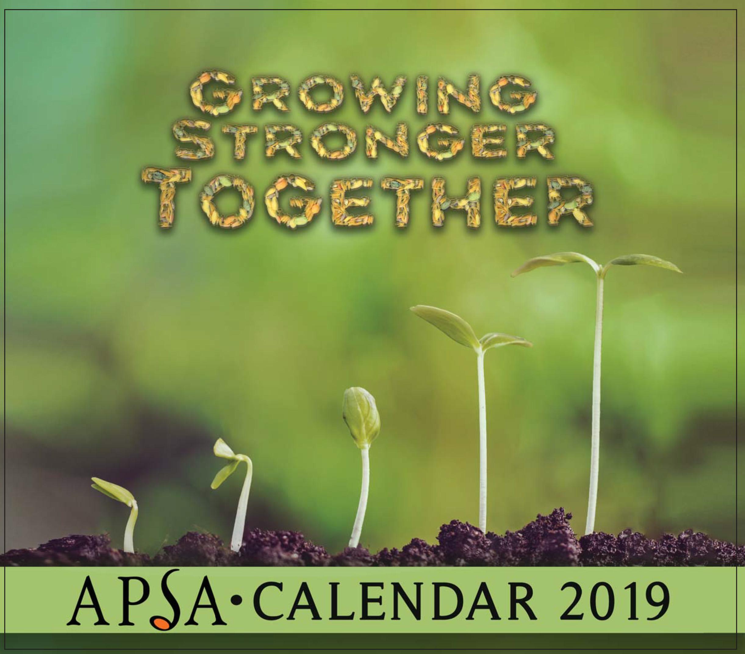 APSA 2019 Calendar Sponsors (Gallery)