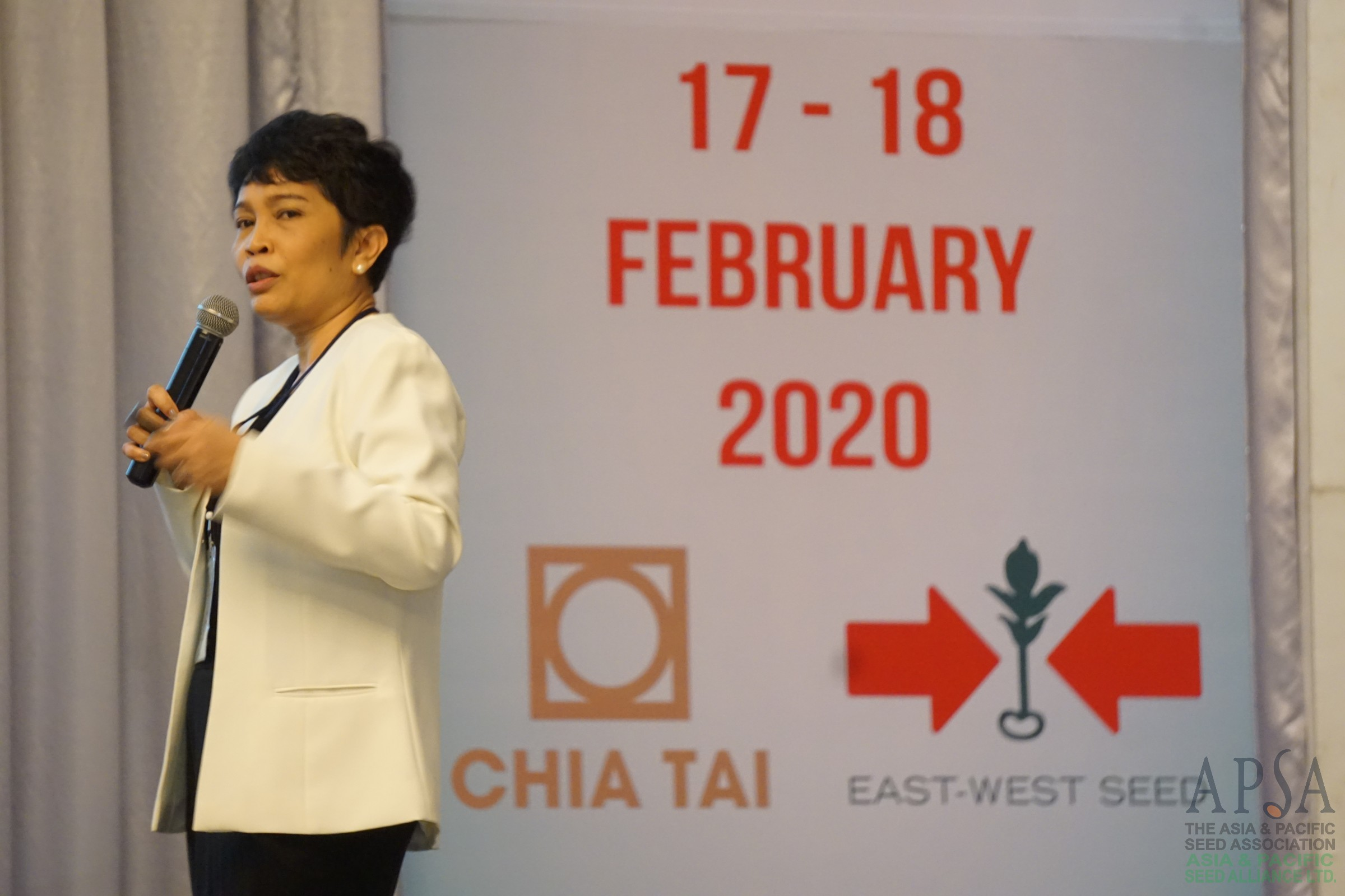 Seed Quality Management Seminar 2020 by APSA, ISTA (Photos)